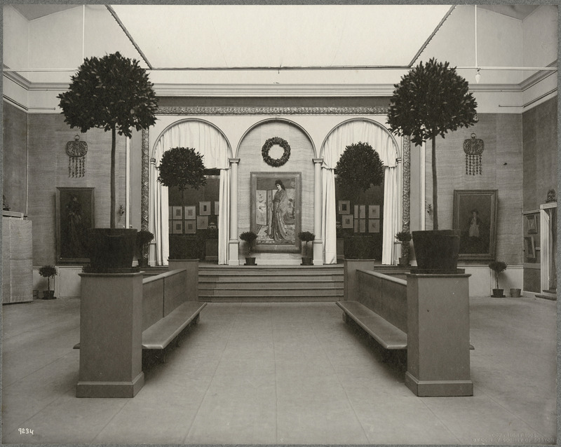 Whistler Memorial Exhibtion, Copley Hall, 1904