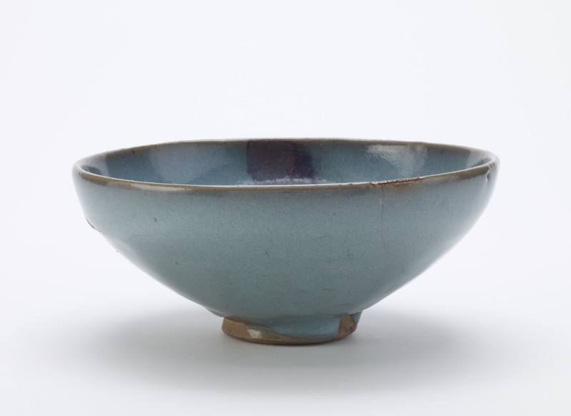 Bowl with imperial inscription dated 1776
