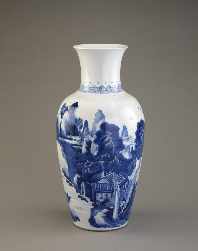 Vase, one of a pair with F1982.22