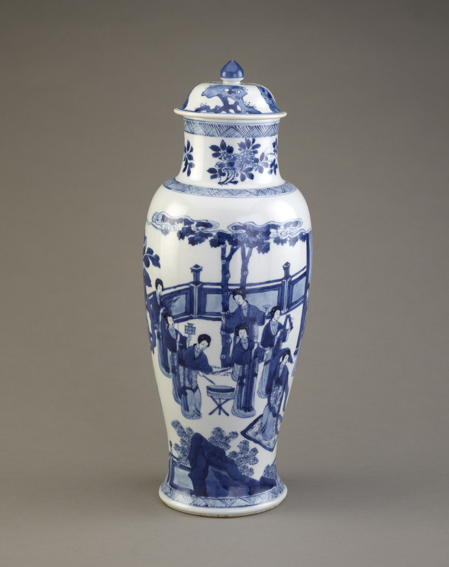 Baluster vase, from a five-piece garniture (F1980.190-.194)