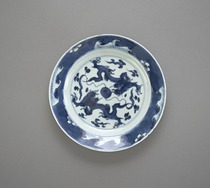 Dish with dragon design, one of a pair with F1992.5