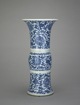 Vase, one of a pair with F1992.13.1