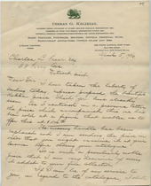 Dikran G. Kelekian to Charles Lang Freer, April 5, 1906