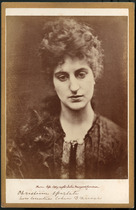 Christina Spartali, photograph by Julia Margaret Cameron