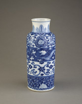 Vase, one of a pair with F1991.60