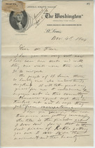 Dikran G. Kelekian to Charles Lang Freer, November 4, 1904