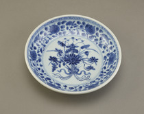 Dish, one of a pair with F1992.34.2
