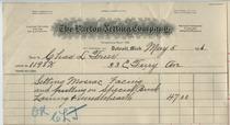 Barton Netting Company invoice, May 5, 1906