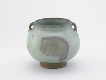 Jar with two loop handles