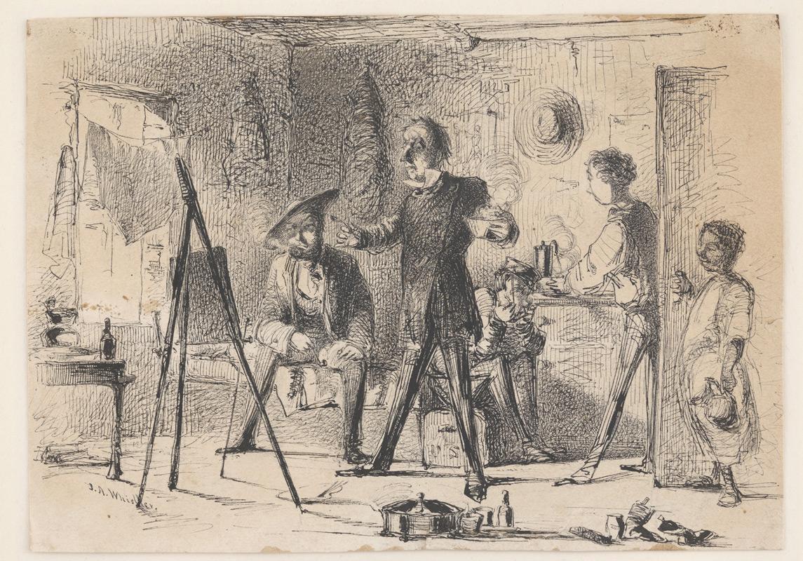 Connoisseurs in a Studio