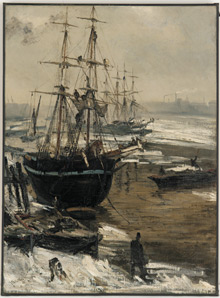 'The Thames In Ice'