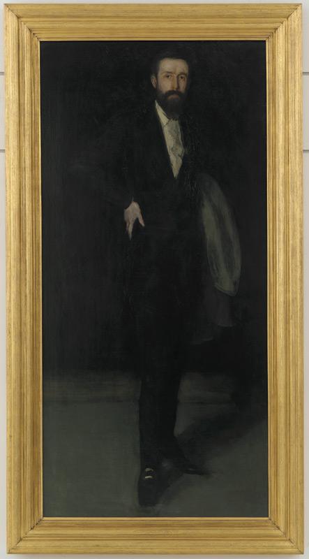 'Arrangement in Black: Portrait of F.R. Leyland'