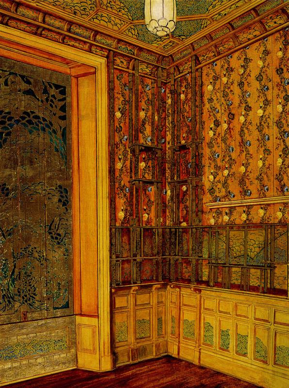Peter Nelson rendering of Peacock Room