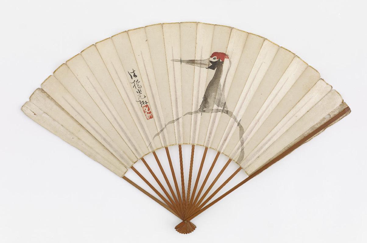 A crane, style of Ogata Kōrin