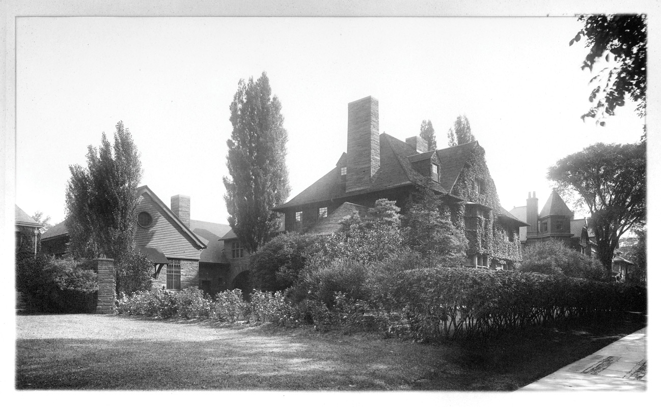 'The home of Charles Lang Freer'