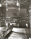 George W. Swain, south wall of the Peacock Room, 1908