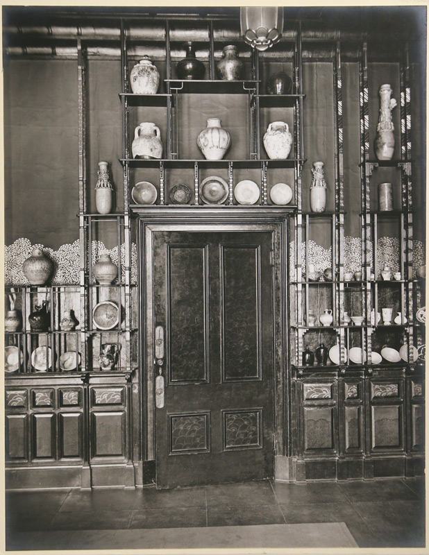 George W. Swain, west wall of the Peacock Room, 1908