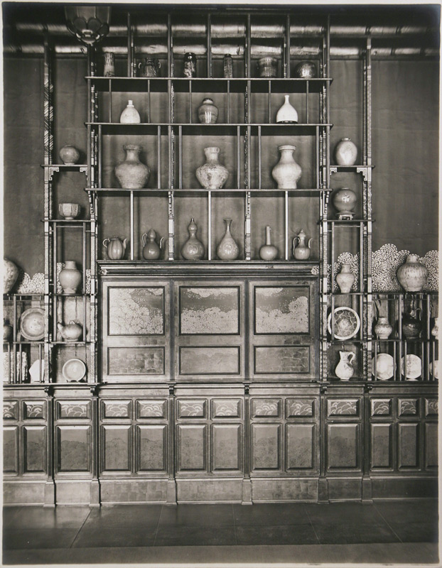 George W. Swain, west wall of the Peacock Room, 1908 (Second view)