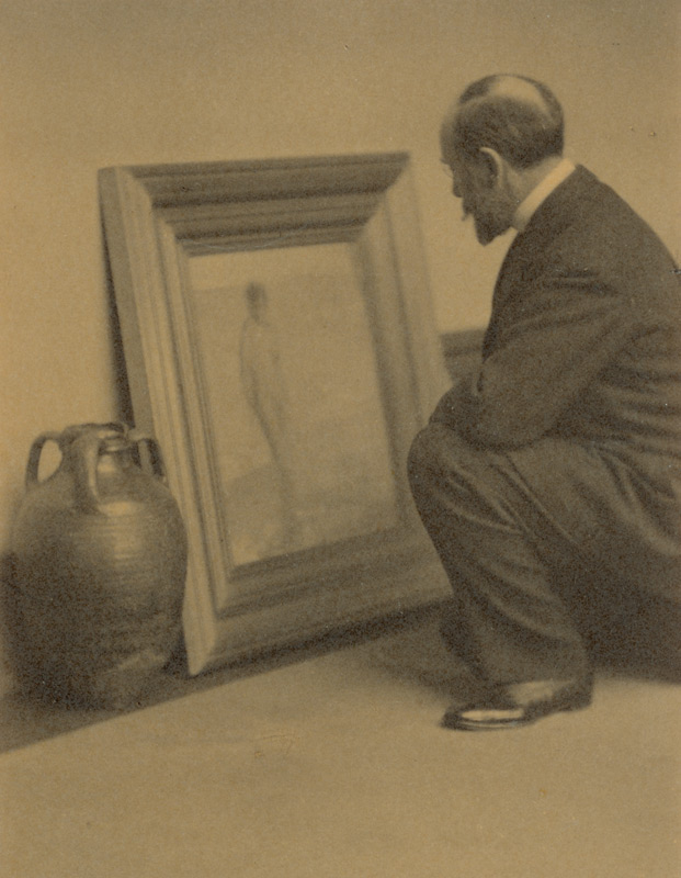 Freer photographed by Alvin Langdon Coburn