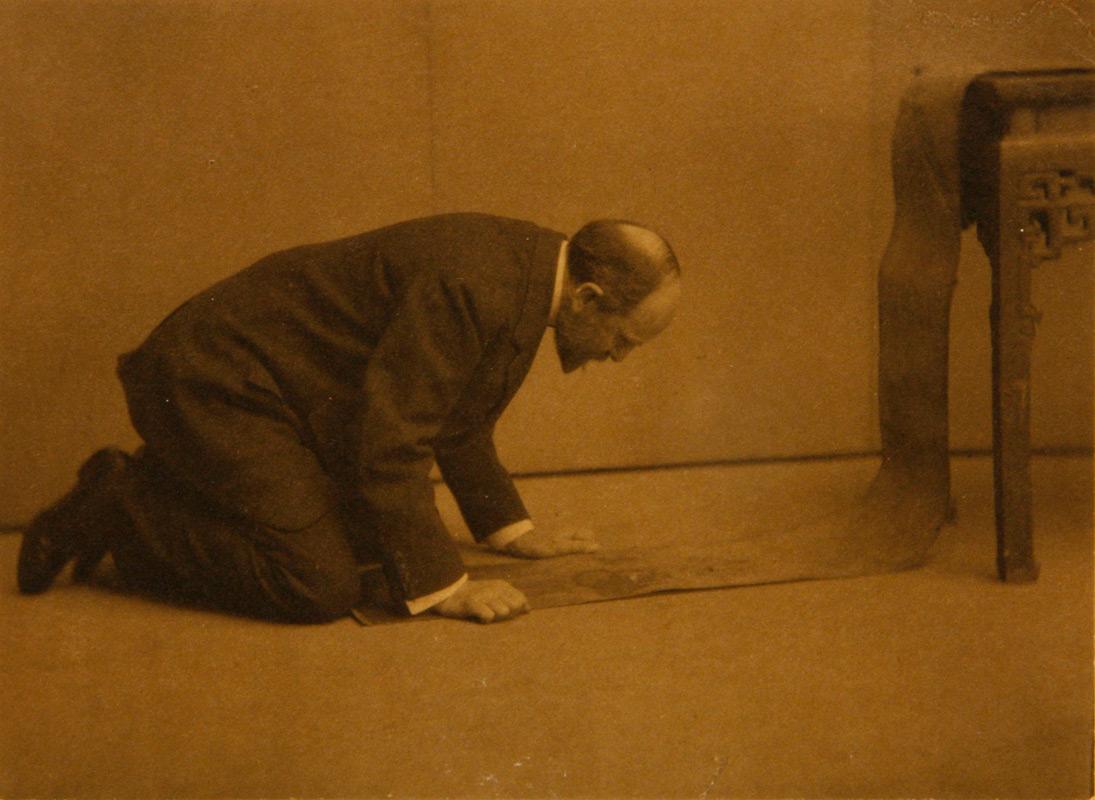 Charles Lang Freer, 1909, Photograph by Alvin Langdon Coburn