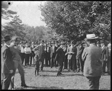 Freer Gallery groundbreaking