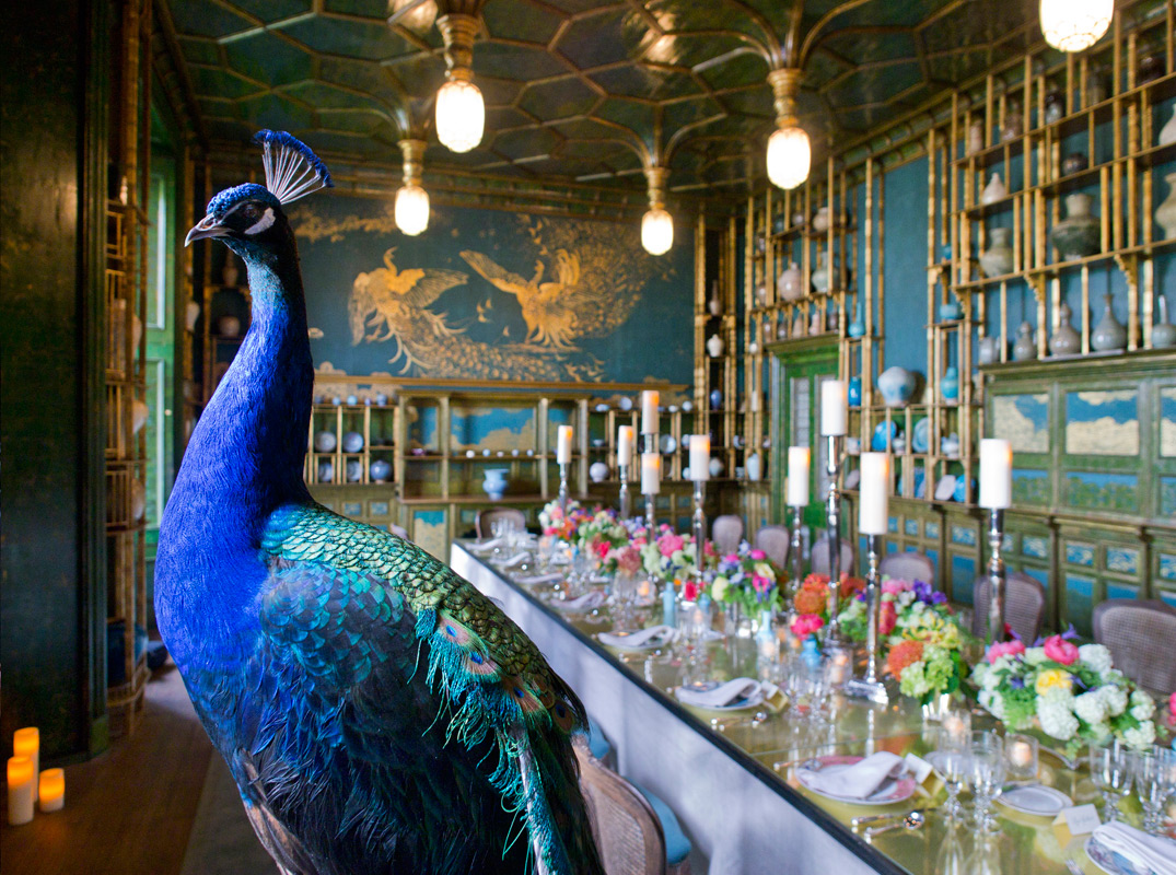 Dinner celebrating The Peacock Room Comes to America, April 2012